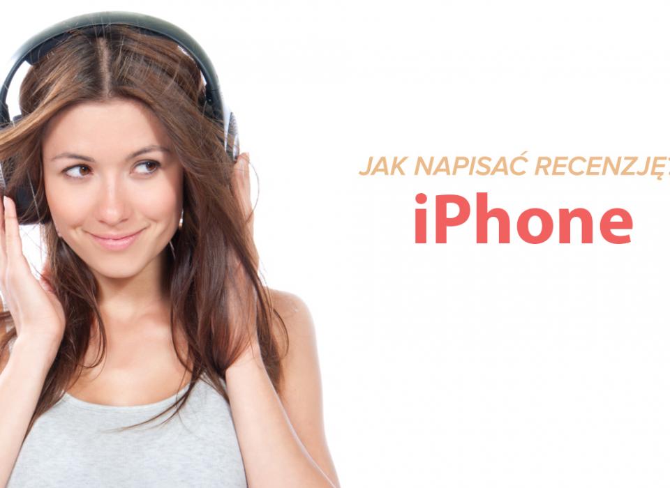 Jak dodać recenzję iPhonem?
