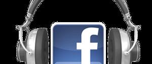 Słuchawki z logo Facebooka